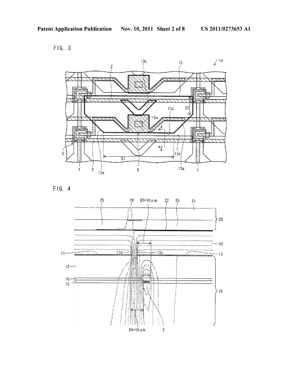 ARRAY SUBSTRATE, LIQUID CRYSTAL DISPLAY DEVICE, ELECTRONIC DEVICE - diagram, schematic, and image 03