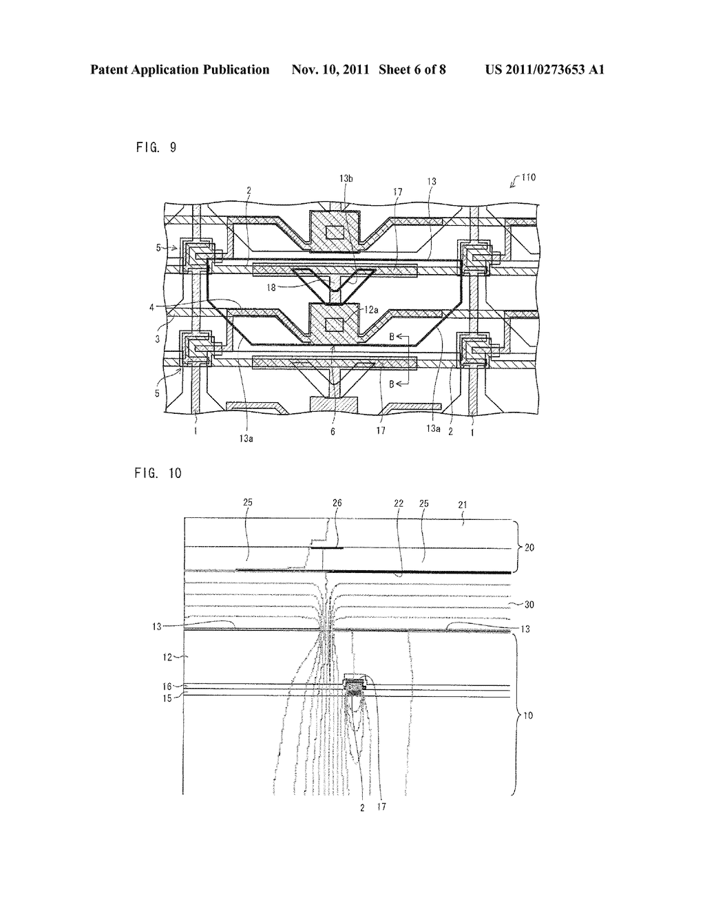 ARRAY SUBSTRATE, LIQUID CRYSTAL DISPLAY DEVICE, ELECTRONIC DEVICE - diagram, schematic, and image 07