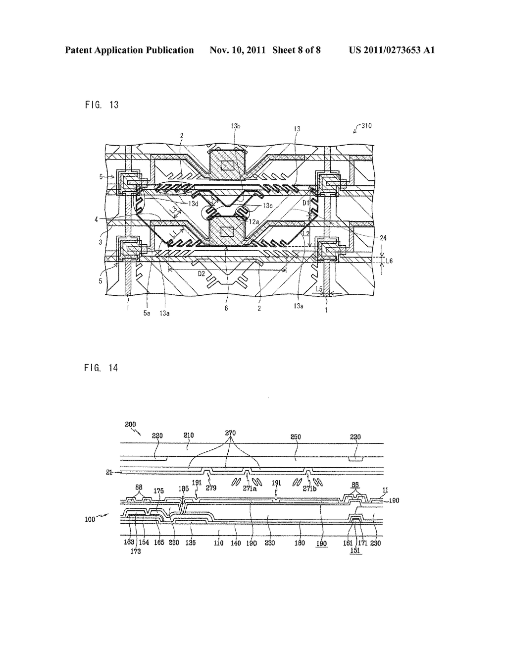ARRAY SUBSTRATE, LIQUID CRYSTAL DISPLAY DEVICE, ELECTRONIC DEVICE - diagram, schematic, and image 09