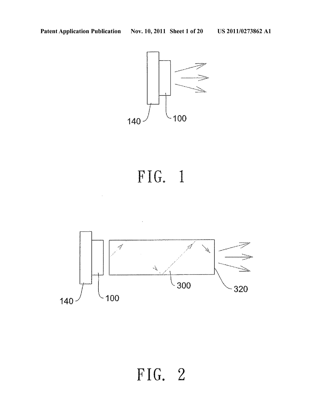 ILLUMINATION SYSTEM AND METHOD FOR RECYCLING  LIGHT TO INCREASE THE     BRIGHTNESS OF THE LIGHT SOURCE - diagram, schematic, and image 02