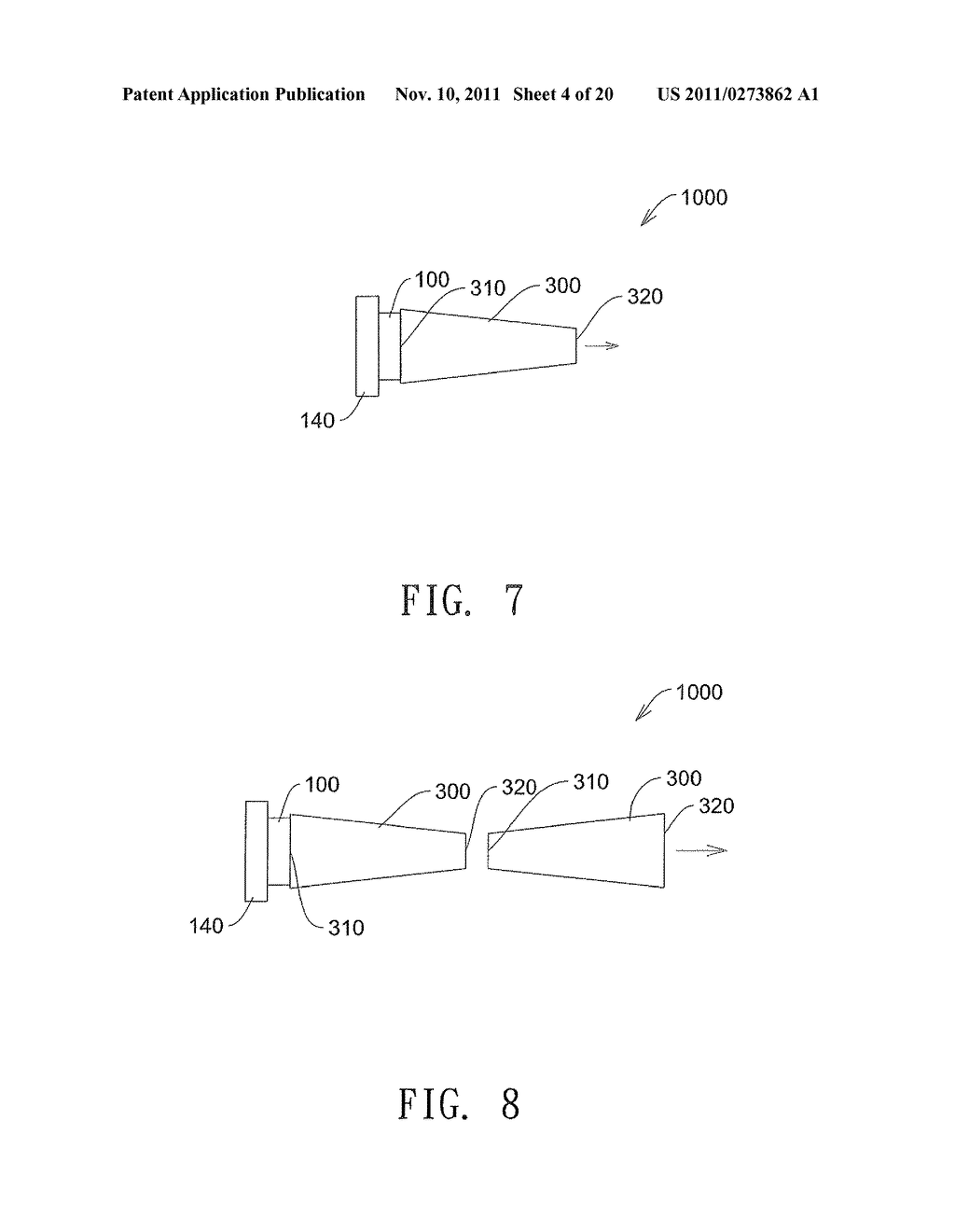 ILLUMINATION SYSTEM AND METHOD FOR RECYCLING  LIGHT TO INCREASE THE     BRIGHTNESS OF THE LIGHT SOURCE - diagram, schematic, and image 05