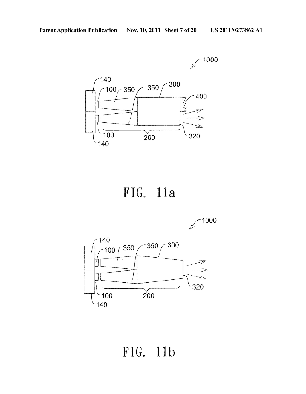 ILLUMINATION SYSTEM AND METHOD FOR RECYCLING  LIGHT TO INCREASE THE     BRIGHTNESS OF THE LIGHT SOURCE - diagram, schematic, and image 08