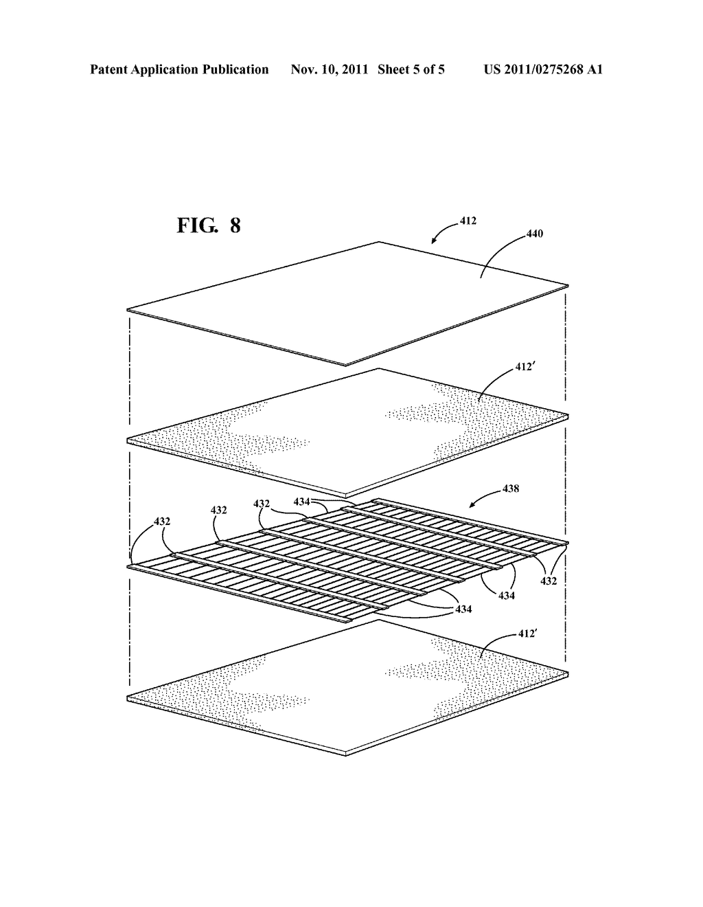 NON-WOVEN, SELF-WRAPPING THERMAL SLEEVE AND METHOD OF CONSTRUCTION THEREOF - diagram, schematic, and image 06