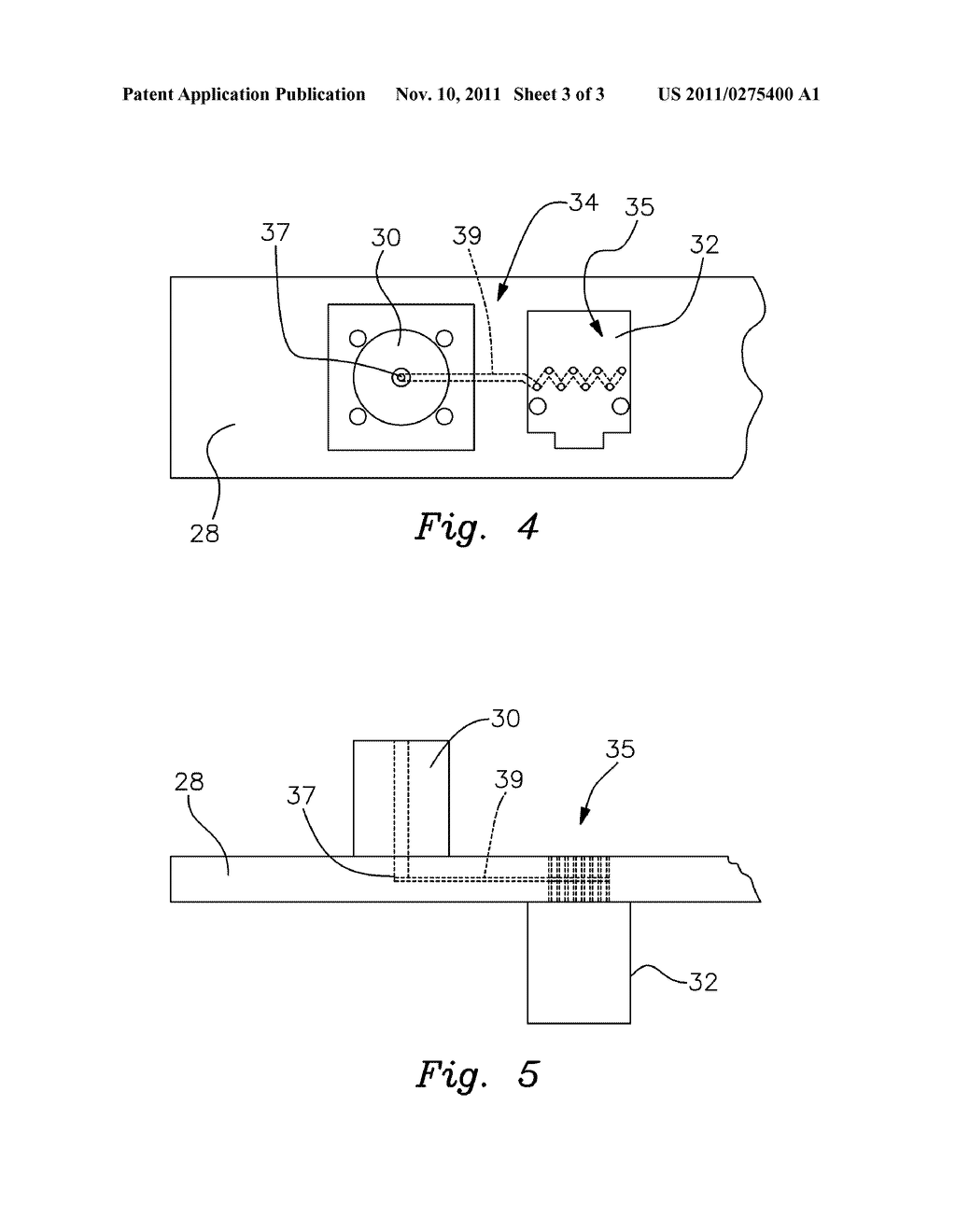 Method and Apparatus for Enhancing Wireless Communications To and From the     Inside of a Building - diagram, schematic, and image 04