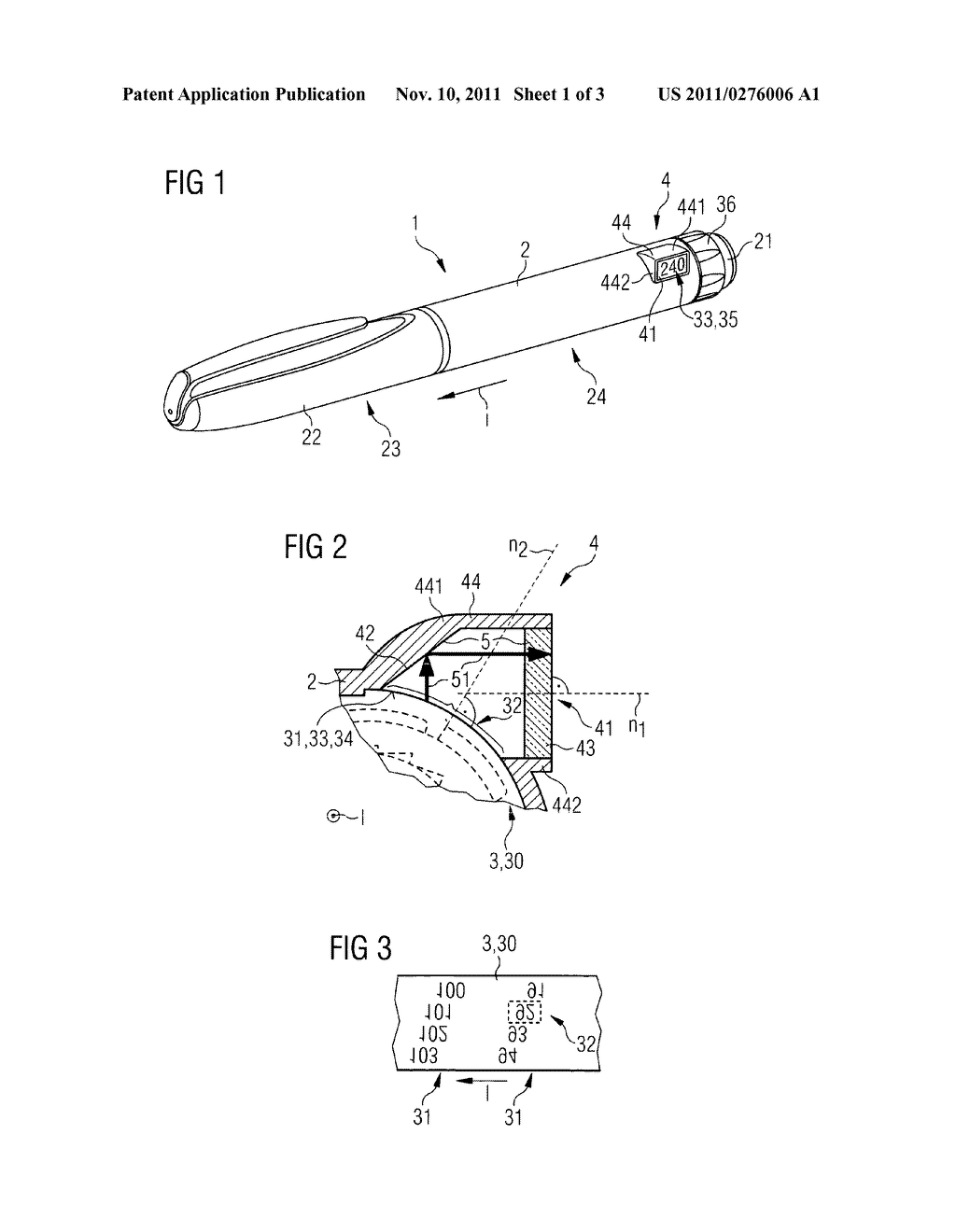 Medication Delivery Device and Method of Assembling a Medication Delivery     Device - diagram, schematic, and image 02