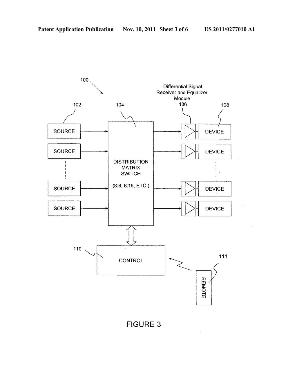 Audio Video Matrix Switch With Automatic Line Length Signal Schematic Diagram Compensator And Image 04