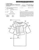 Article Of Apparel With Image Of Instant Photograph diagram and image