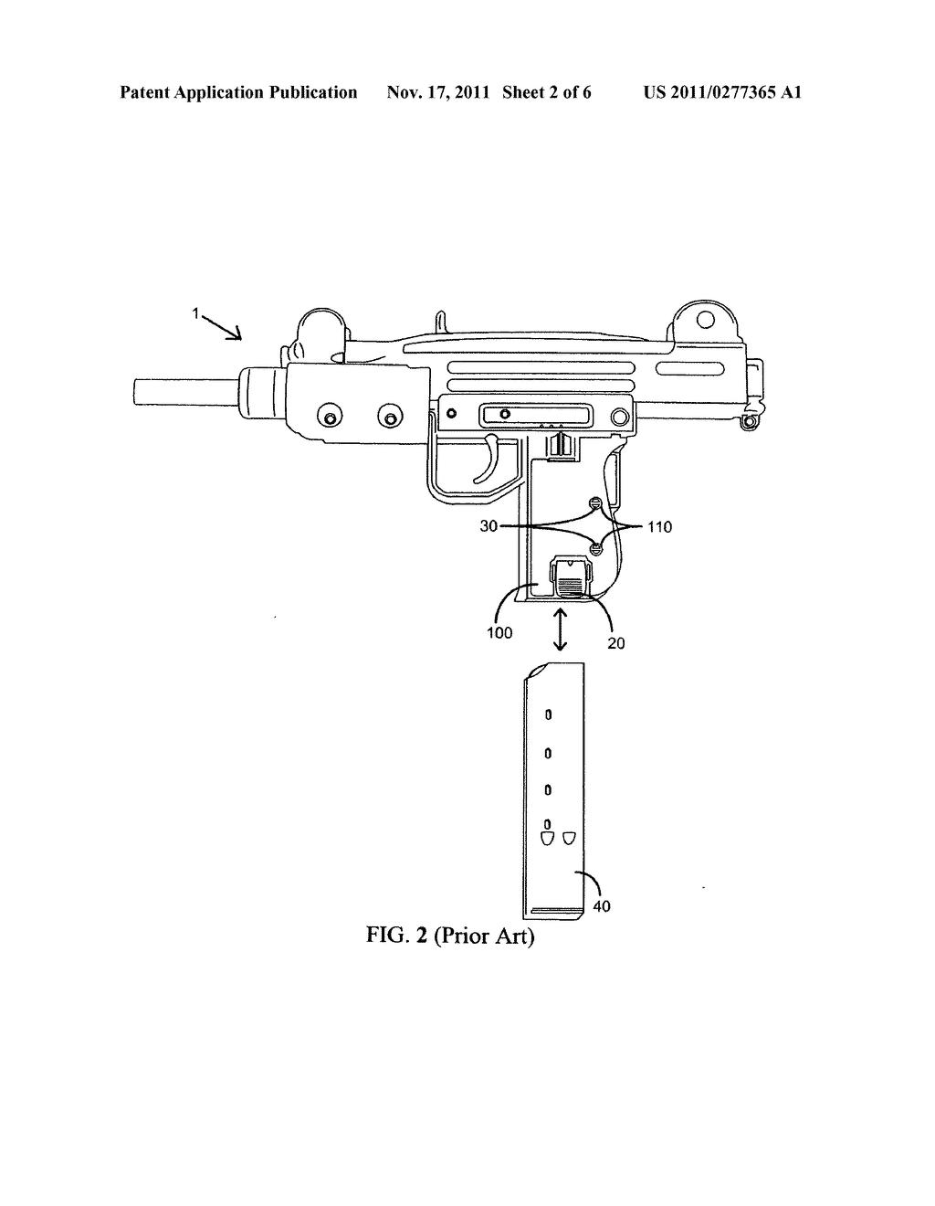 detachable magazine lock grip for uzi firearm diagram imi uzi diagram uzi schematic #6