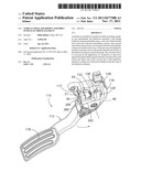 Vehicle Pedal Kickdown Assembly with Leaf Spring Element diagram and image