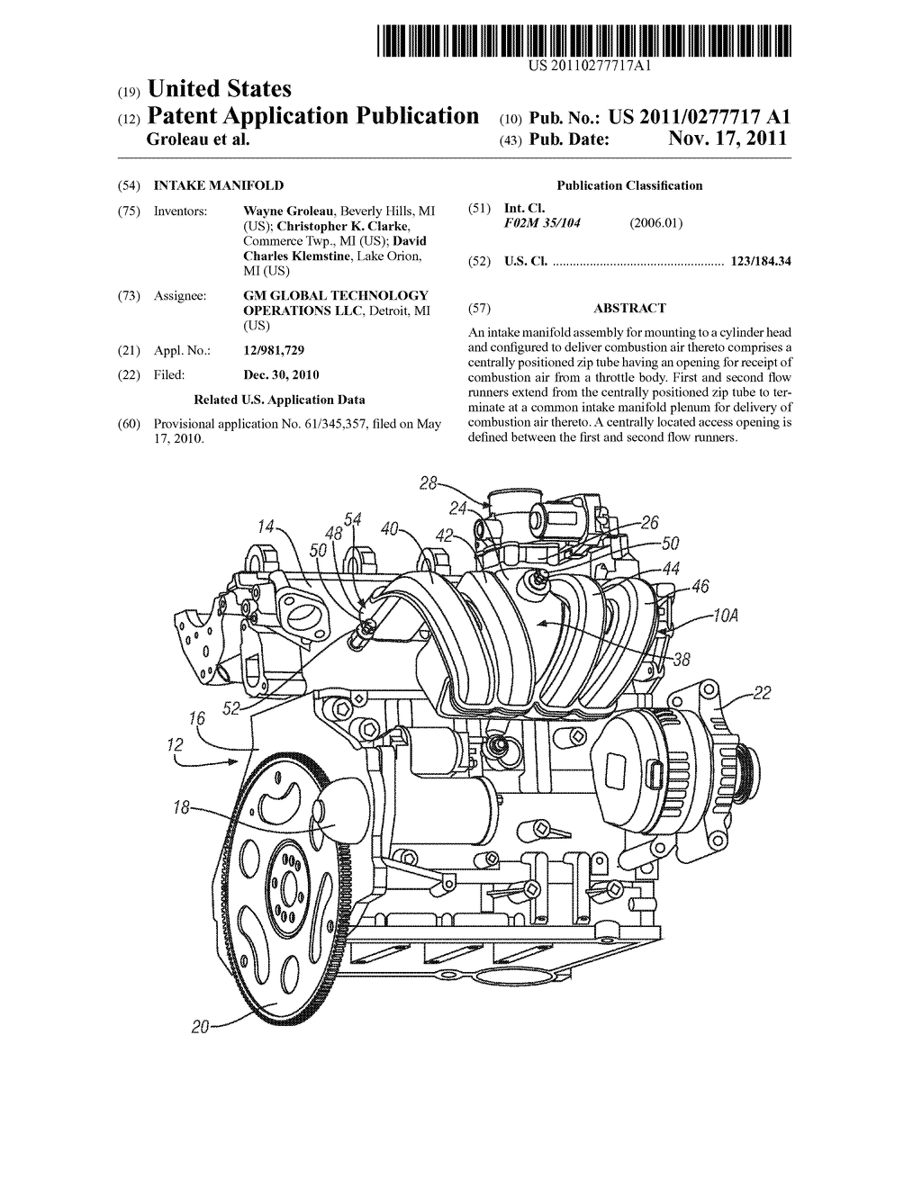Intake Manifold Diagram Schematic And Image 01 Engine With