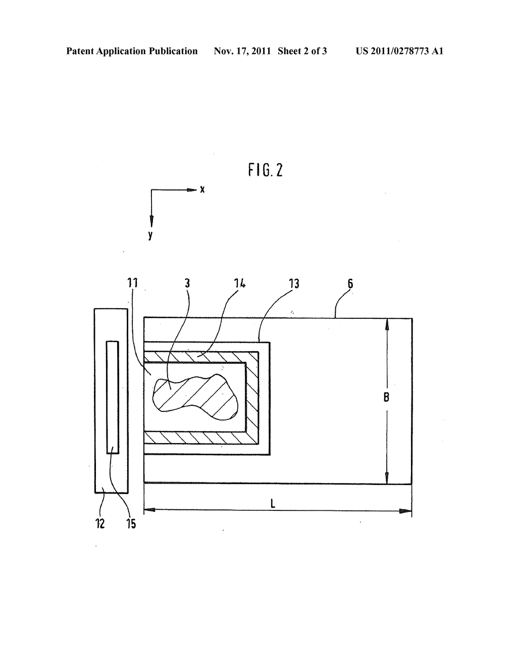 Device And Method Of Generatively Manufacturing A Three-Dimensional Object     With Working Field Limitation - diagram, schematic, and image 03