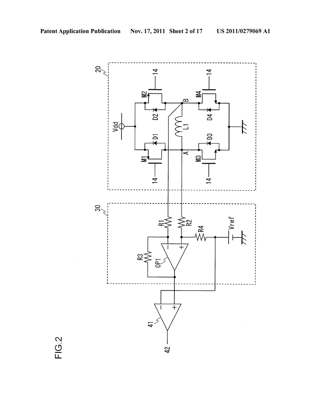 DRIVE CONTROL CIRCUIT FOR LINEAR VIBRATION MOTOR - diagram, schematic, and image 03
