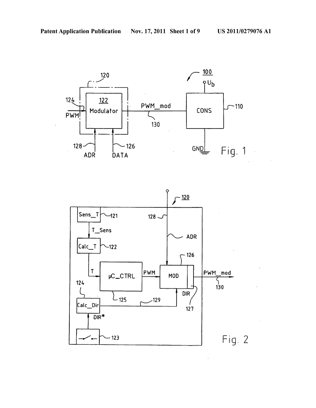 ELECTRIC MOTOR, AND DEVICE FOR GENERATING A SIGNAL FOR CONTROLLING THE     SAME - diagram, schematic, and image 02