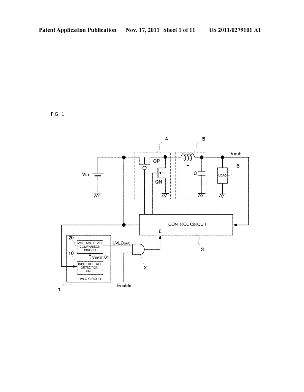 SWITCHING POWER SUPPLY SYSTEM PROVIDED WITH UNDER VOLTAGE LOCK OUT CIRCUIT - diagram, schematic, and image 02