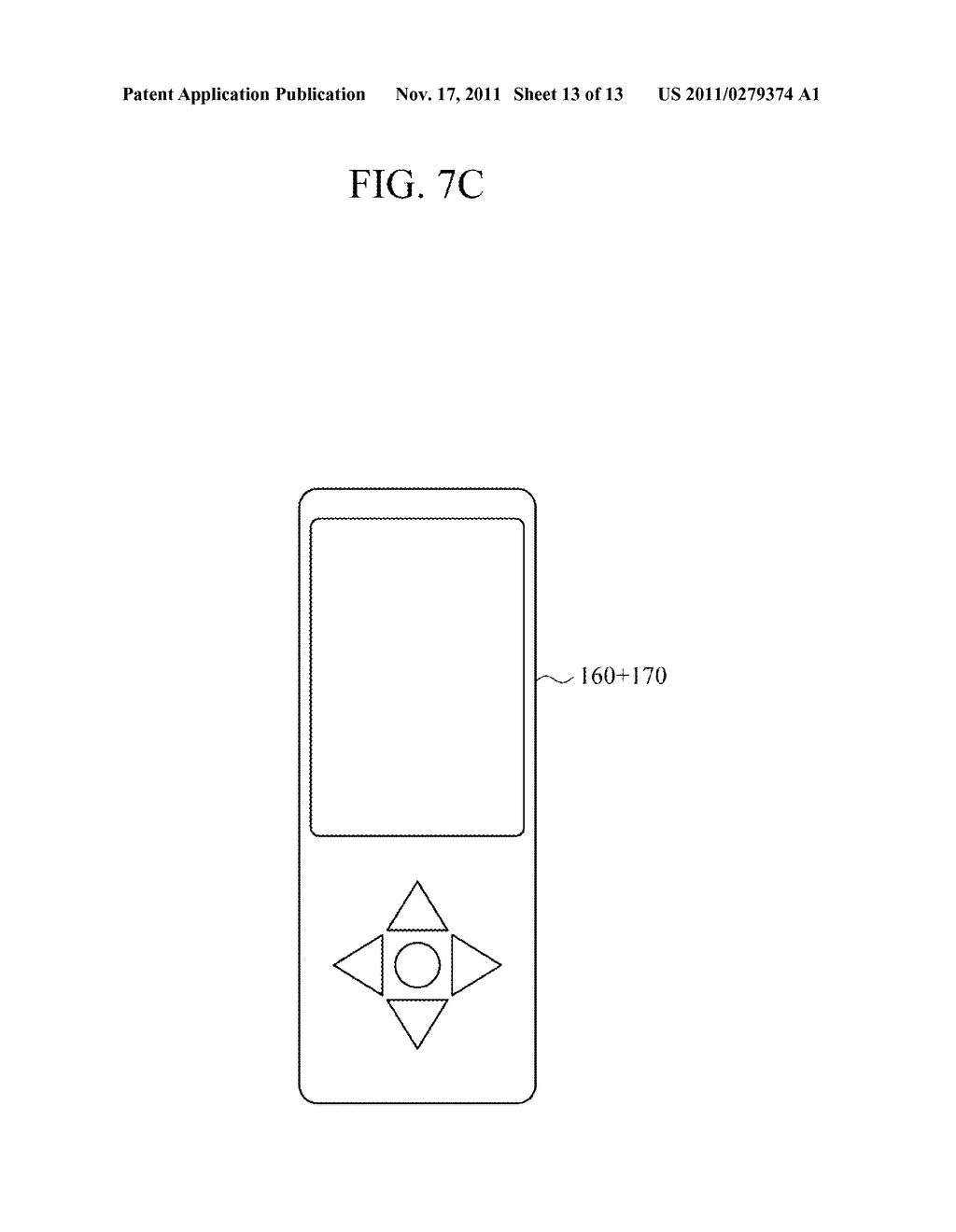 USER INPUT DEVICE AND ELECTRONIC APPARATUS INCLUDING THE SAME - diagram, schematic, and image 14