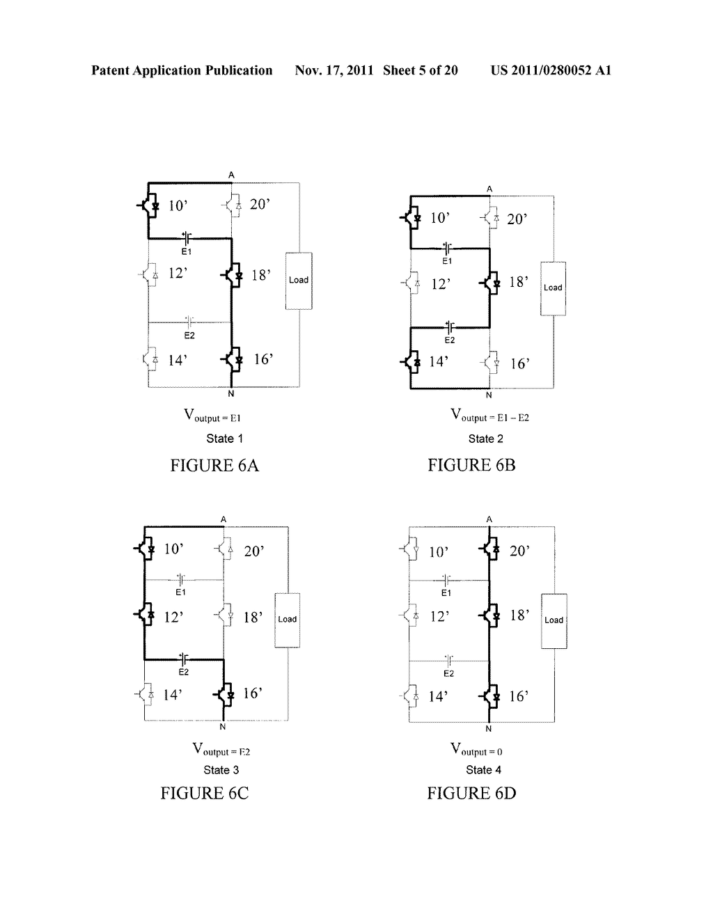 MULTILEVEL ELECTRIC POWER CONVERTER - diagram, schematic, and image 06
