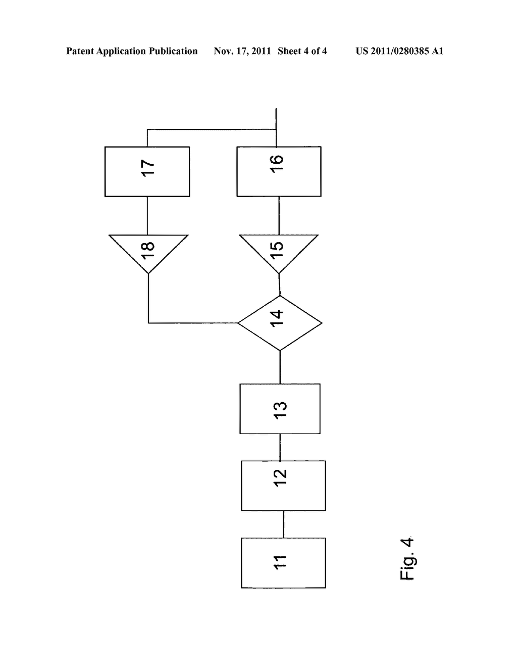 METHOD FOR ESTABLISHING AND MANAGING A CONNECTION OF A MOBILE     COMMUNICATION TERMINAL TO A PRIVATE BRANCH EXCHANGE - diagram, schematic, and image 05