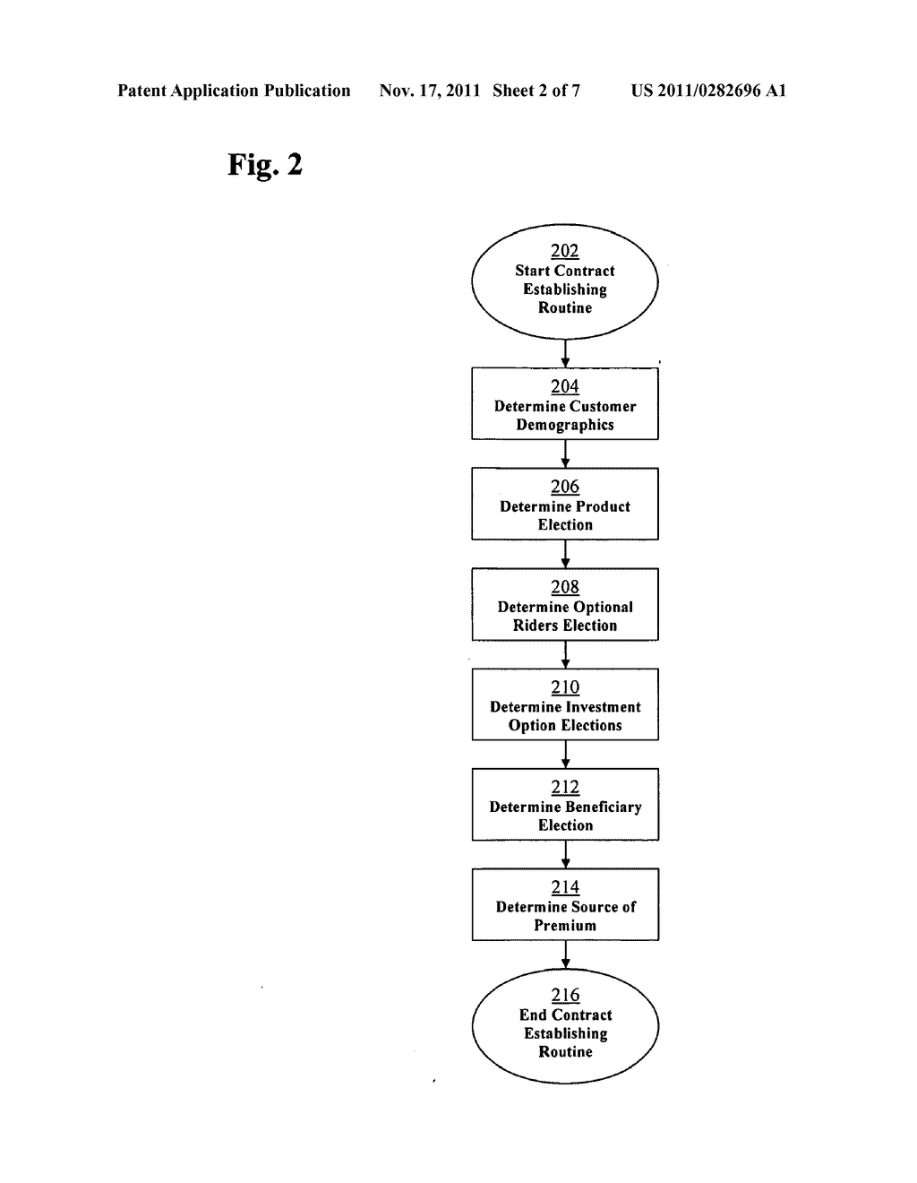METHOD AND SYSTEM FOR PROCESSING DATA RELATED TO A DEFERRED ANNUITY HAVING     A MINIMUM CONTRACT VALUE - diagram, schematic, and image 03