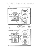 MIGRATION OF METADATA AND STORAGE MANAGEMENT OF DATA IN A FIRST STORAGE     ENVIRONMENT TO A SECOND STORAGE ENVIRONMENT diagram and image
