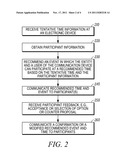 Electronic Event Planner in Communication Device diagram and image