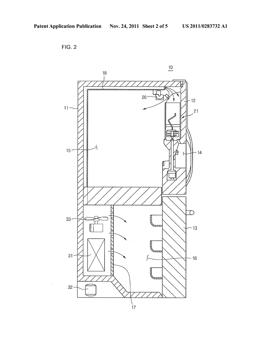 REFRIGERATOR - diagram, schematic, and image 03