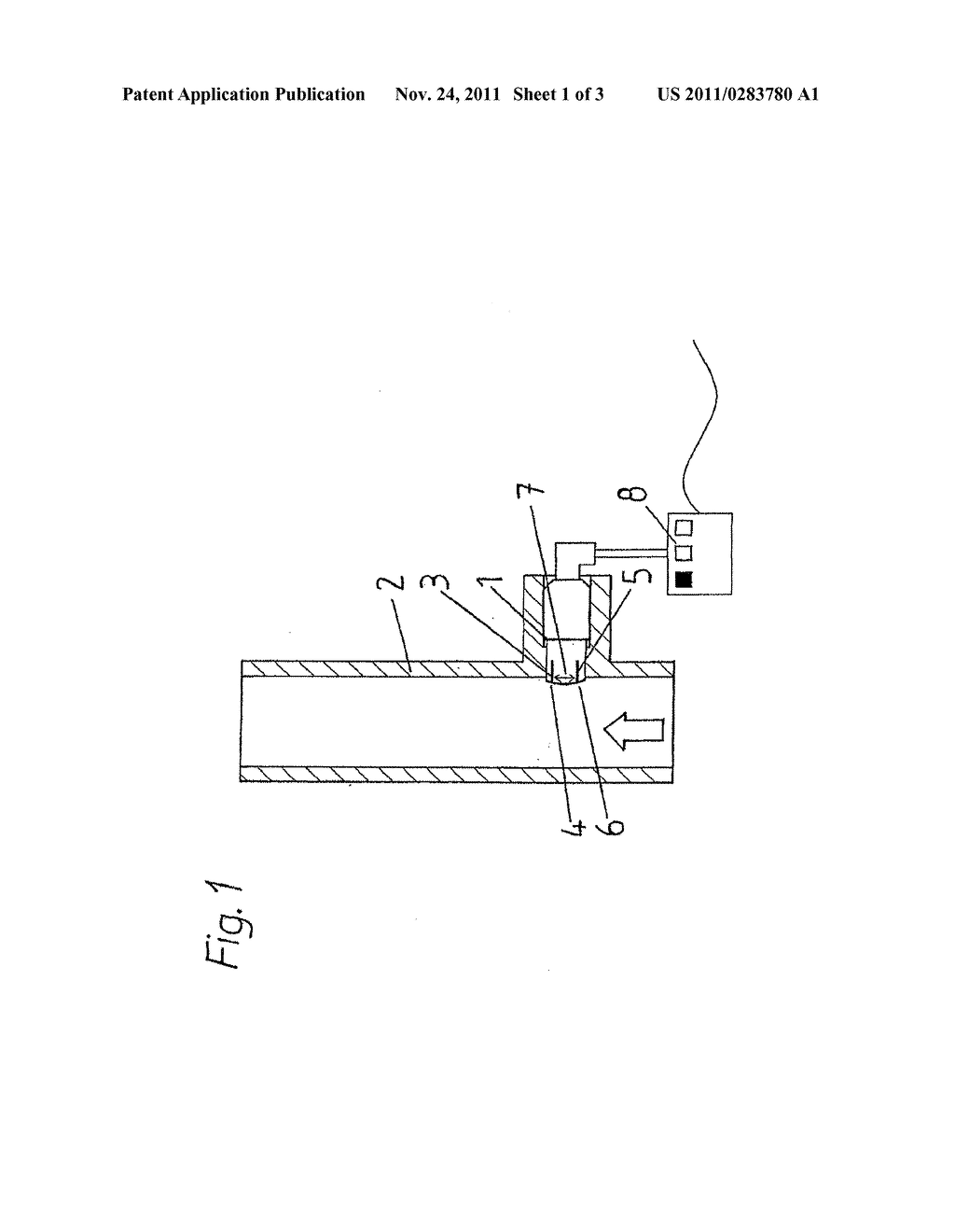 Device and Method for Detecting Deposits - diagram, schematic, and image 02