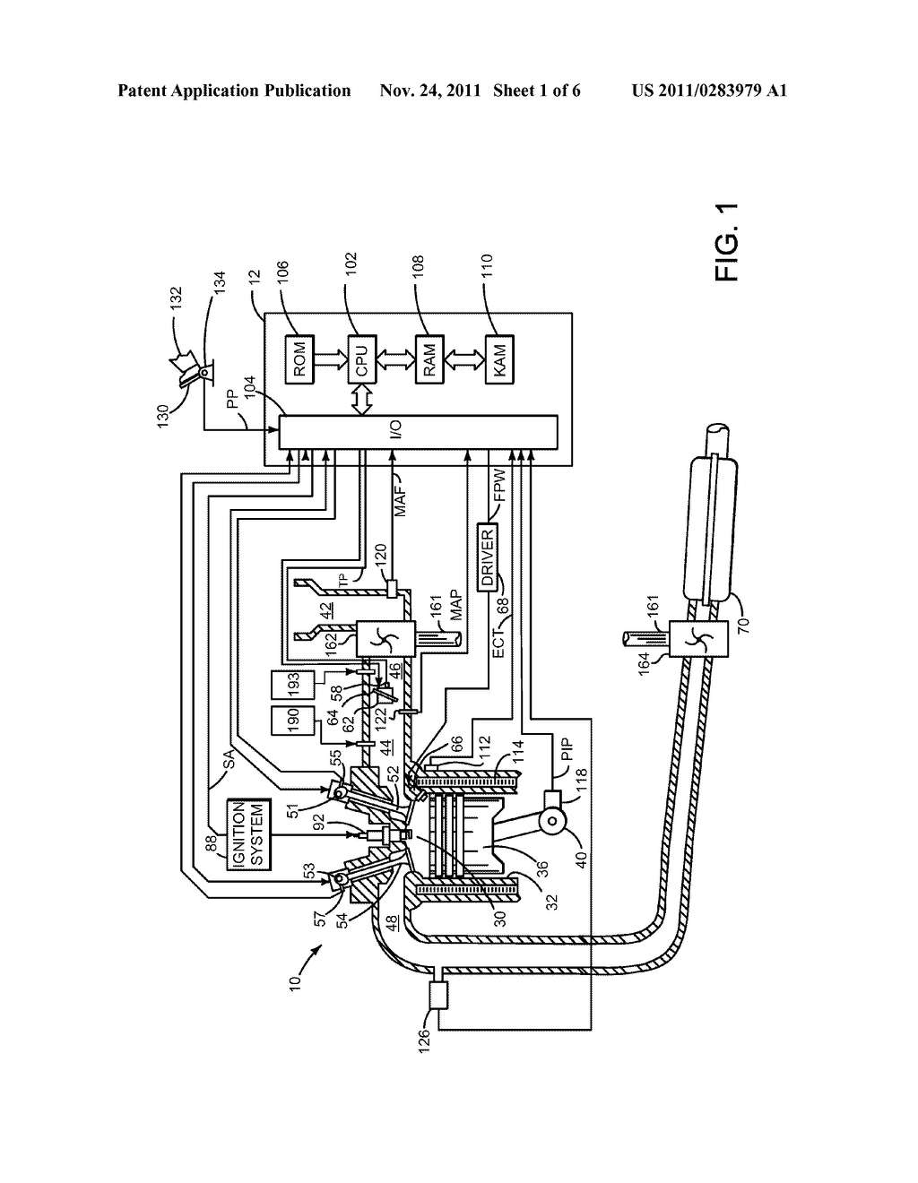 System and Method for Returning Oil Separated from Engine Crankcase Gases - diagram, schematic, and image 02