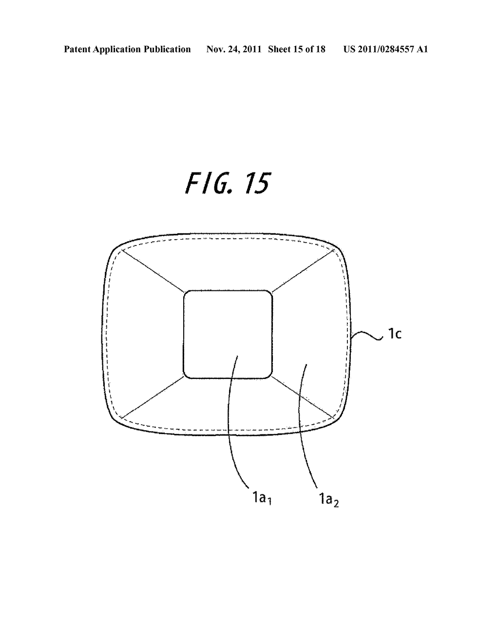 SYNTHETIC RESIN CONTAINER HAVING INVERTED, FOLDED BACK BOTTOM WALL - diagram, schematic, and image 16