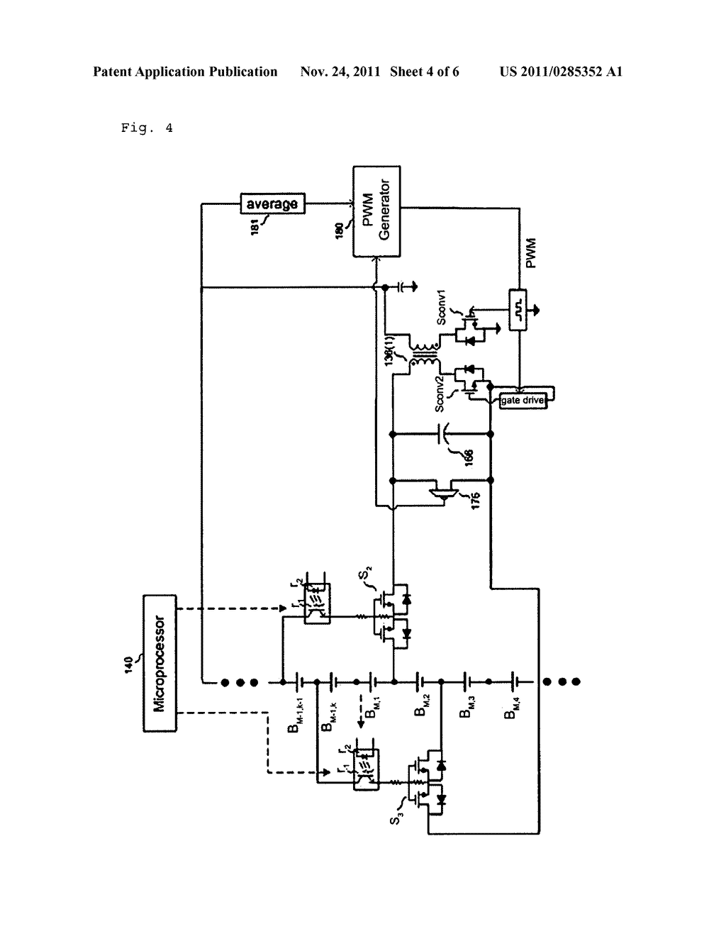 Charge Equalization Apparatus For Series Connected Battery String Circuit With A Voltage Source Such As Or In This Using Regulated Diagram Schematic And Image 05