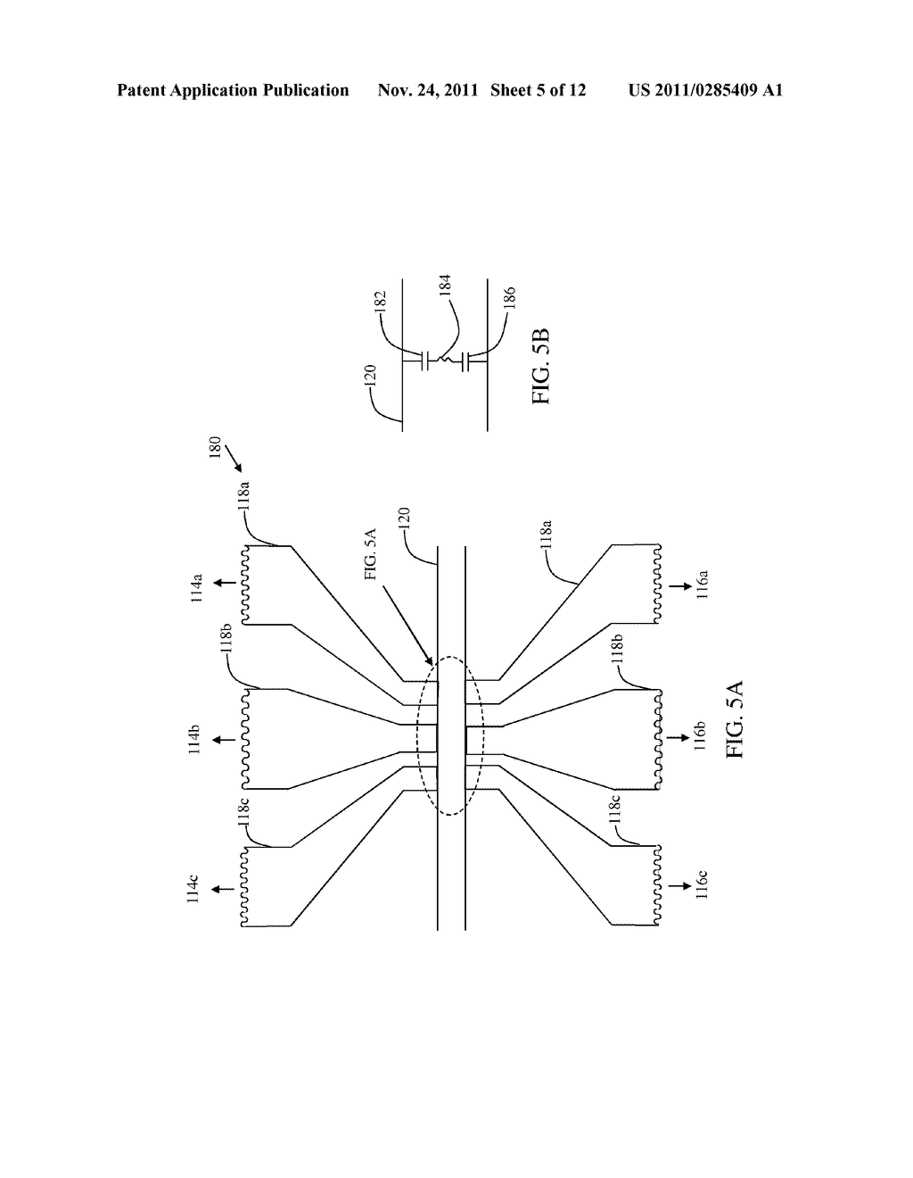 Nanofluidic channel with embedded transverse nanoelectrodes and method of     fabricating for same - diagram, schematic, and image 06