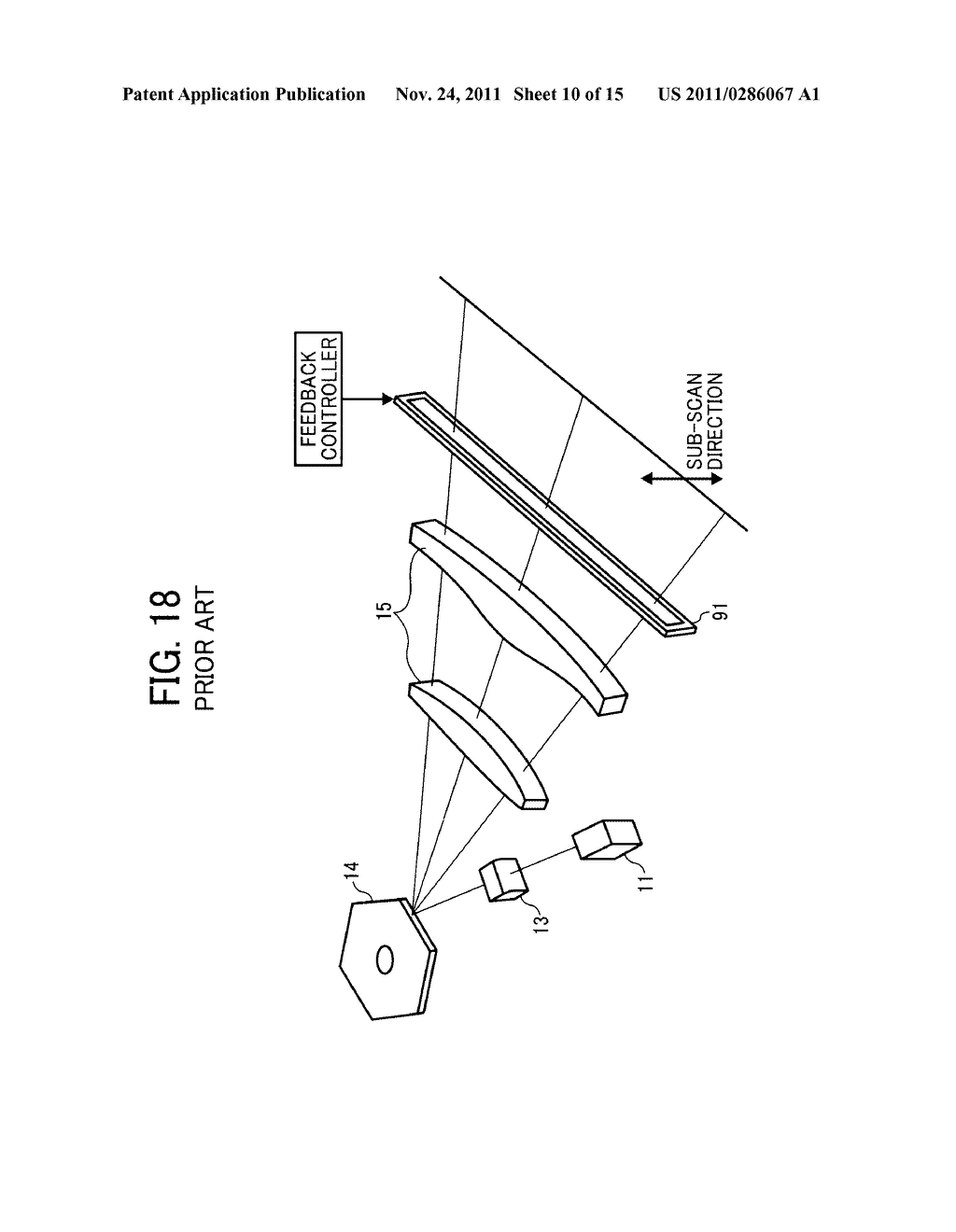 OPTICAL SCANNING DEVICE AND IMAGE FORMING APPARATUS - diagram, schematic, and image 11