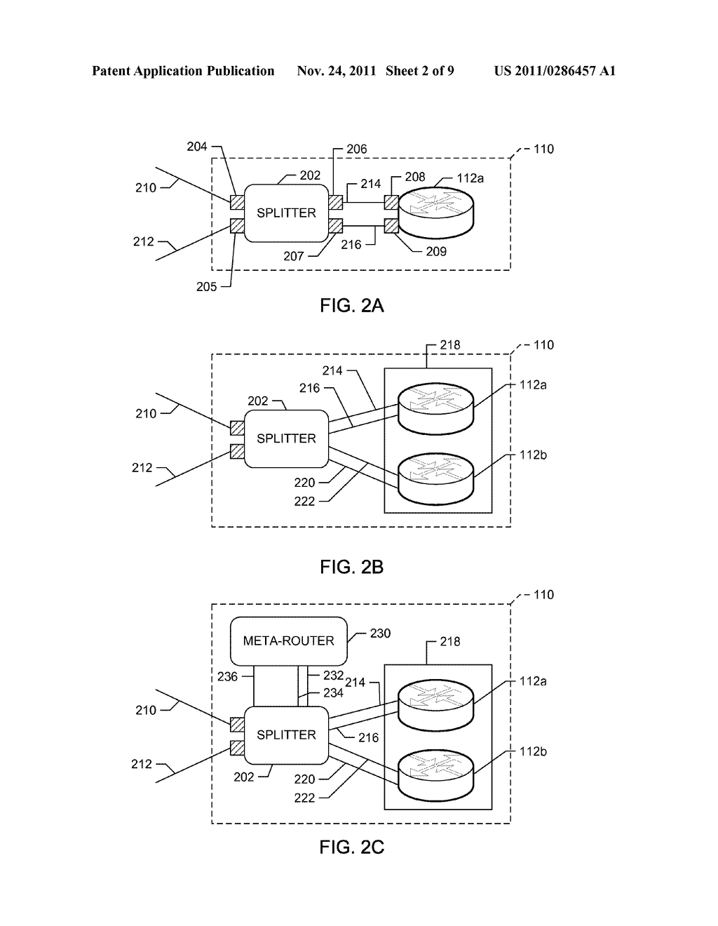 METHODS AND APPARATUS TO ROUTE CONTROL PACKETS BASED ON ADDRESS     PARTITIONING - diagram, schematic, and image 03