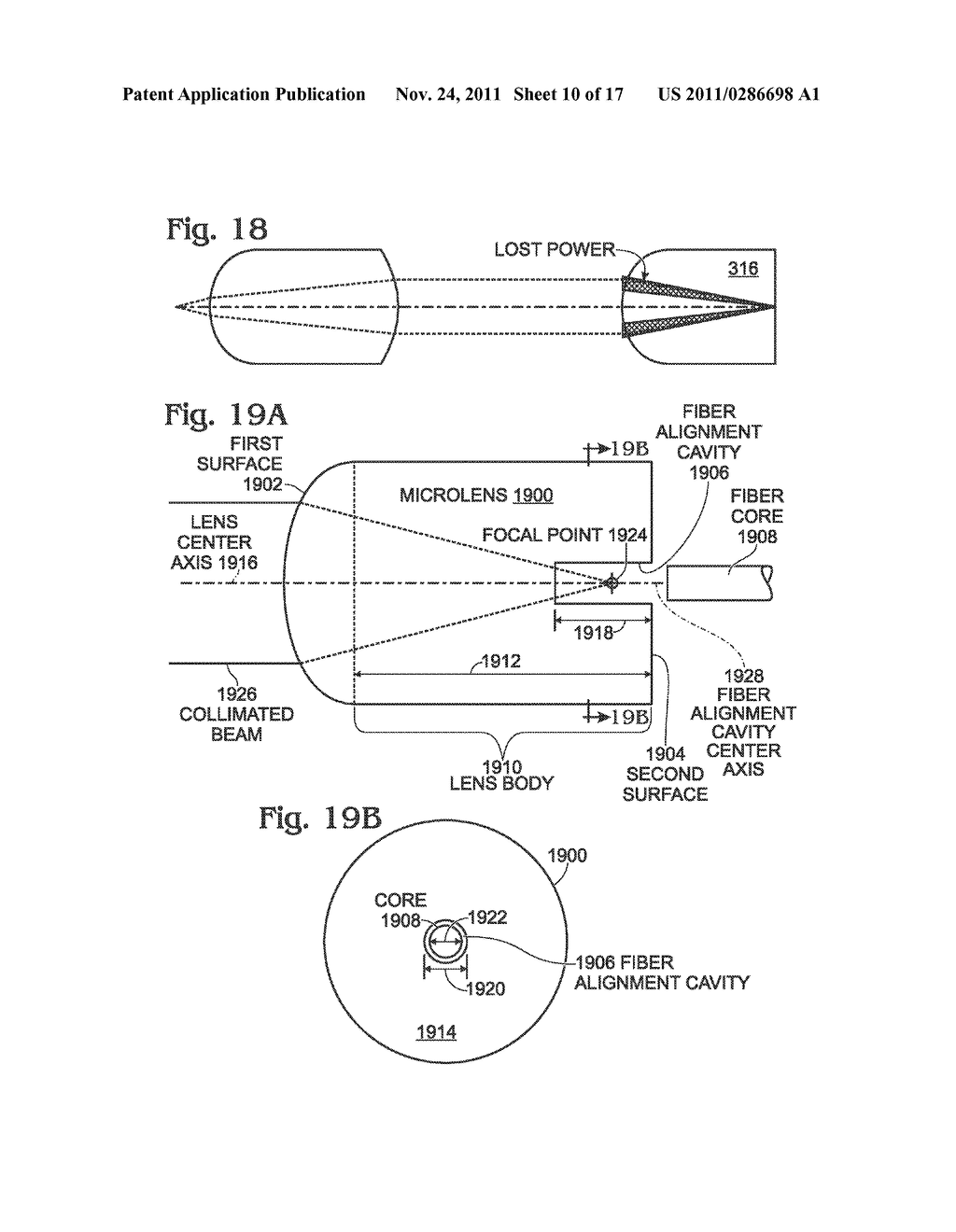 Fiber Optic Connector Microlens With Self Aligning Optical Optics Diagram Link Cavity Schematic And Image 11