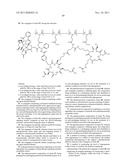 NOVEL CONJUGATES OF POLYMERS HAVING A THERAPEUTICALLY ACTIVE AGENT AND AN     ANGIOGENESIS TARGETING MOIETY ATTACHED THERETO AND USES THEREOF IN THE     TREATMENT OF ANGIOGENESIS RELATED DISEASES diagram and image