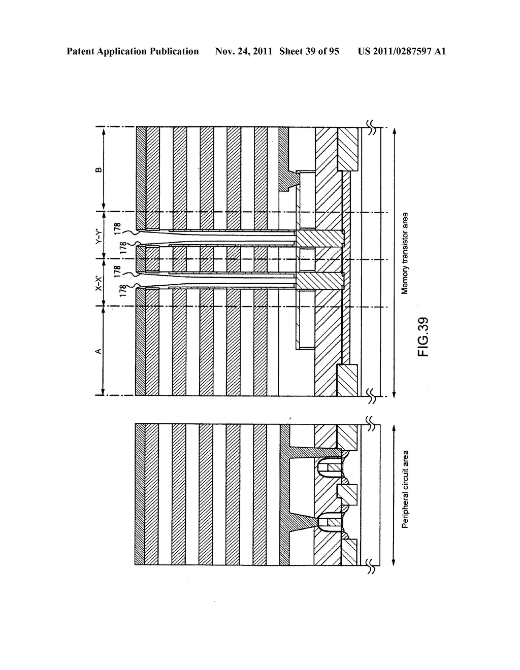 Nonvolatile semicondutor memory device and manufacturing method thereof - diagram, schematic, and image 40