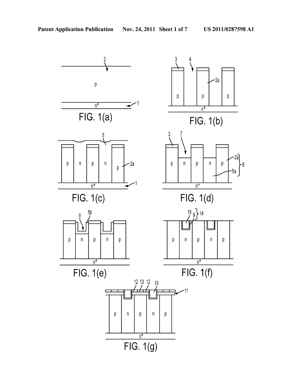 METHOD OF MANUFACTURING SUPER-JUNCTION SEMICONDUCTOR DEVICE - diagram, schematic, and image 02