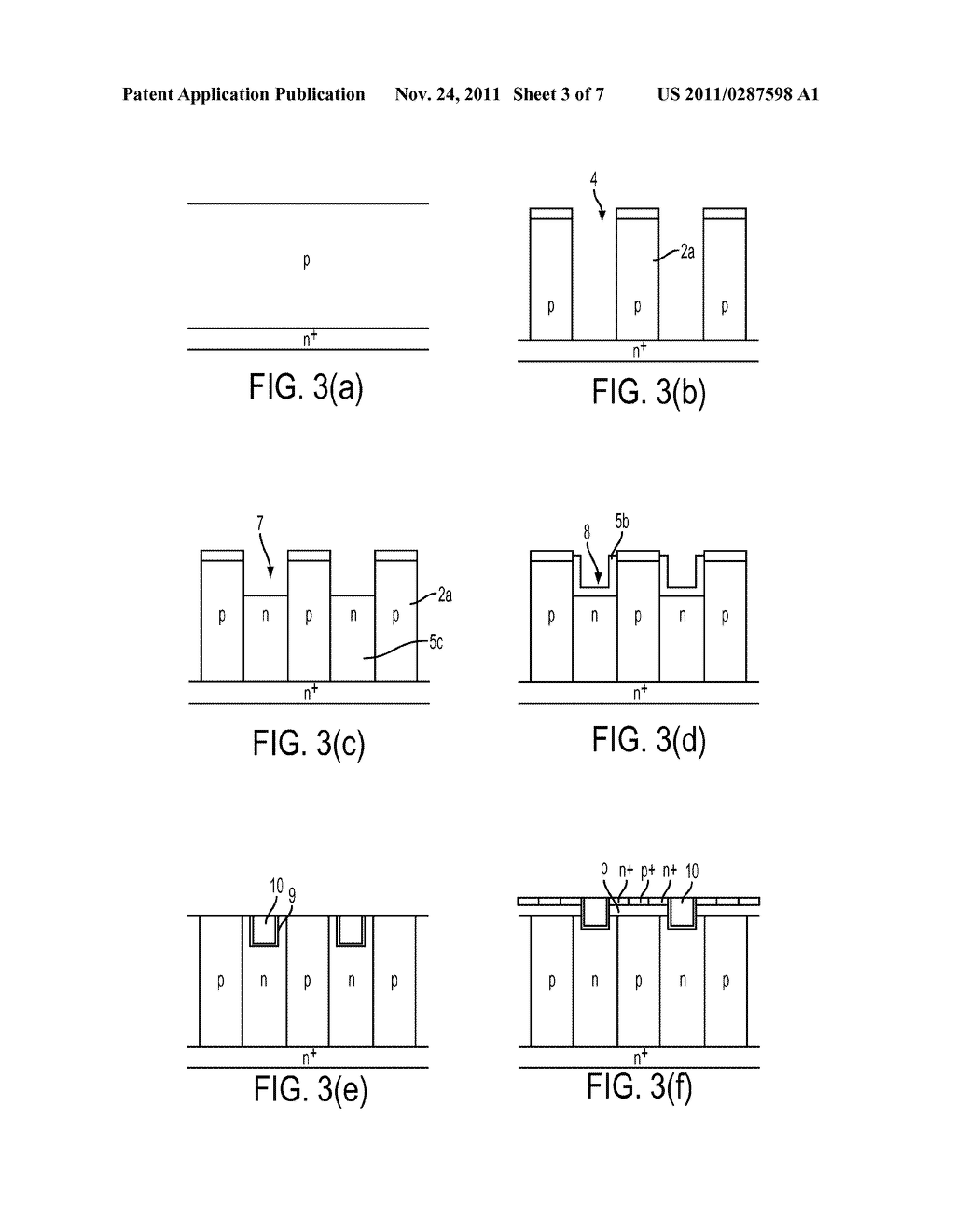 METHOD OF MANUFACTURING SUPER-JUNCTION SEMICONDUCTOR DEVICE - diagram, schematic, and image 04