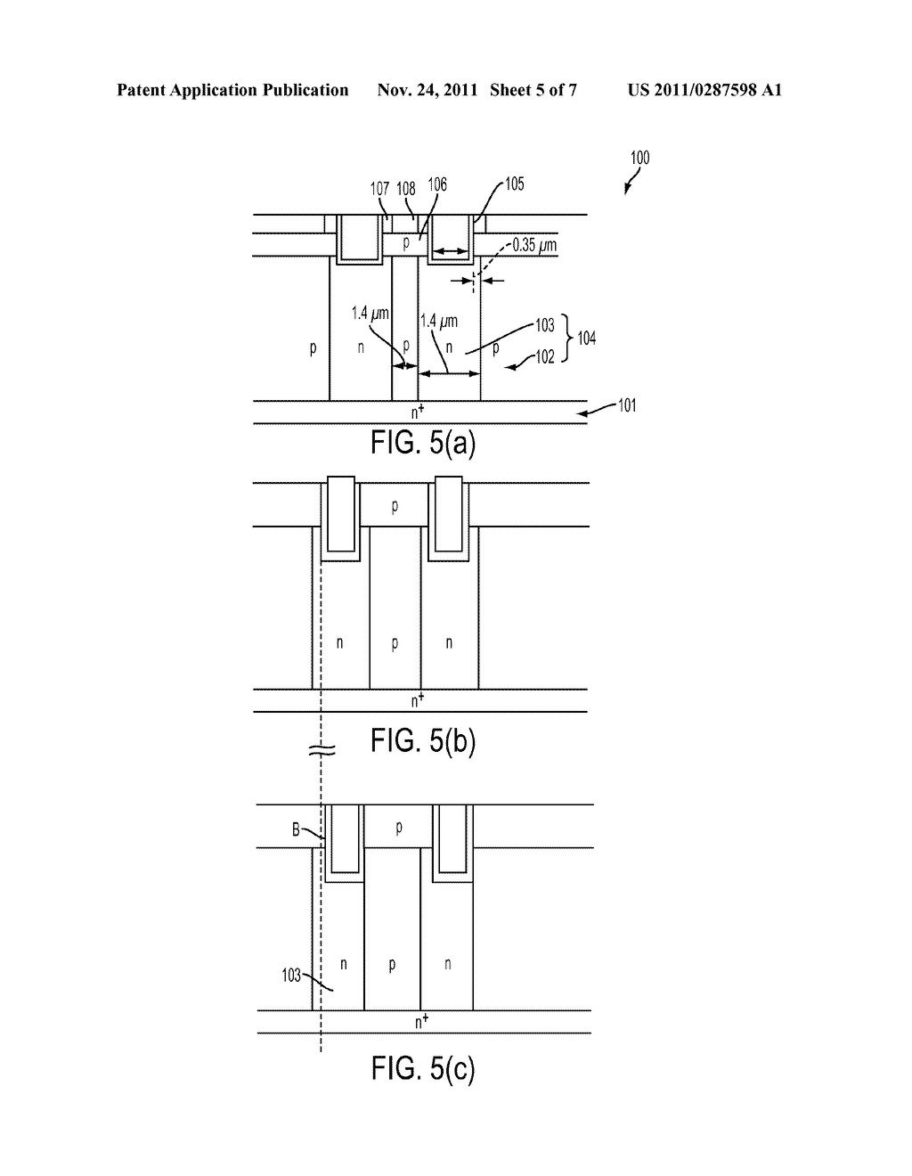 METHOD OF MANUFACTURING SUPER-JUNCTION SEMICONDUCTOR DEVICE - diagram, schematic, and image 06