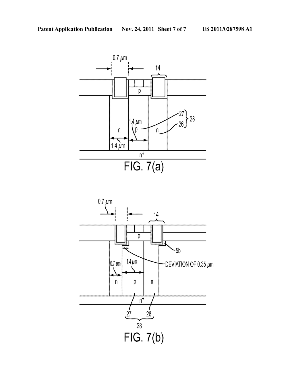 METHOD OF MANUFACTURING SUPER-JUNCTION SEMICONDUCTOR DEVICE - diagram, schematic, and image 08