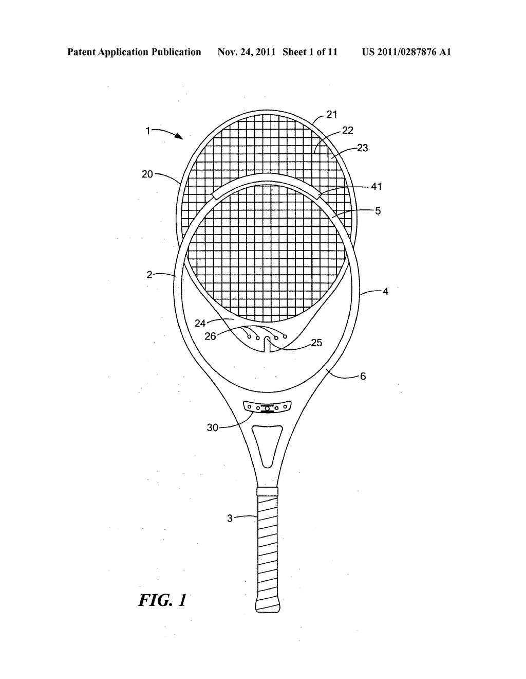 tennis racquet with replaceable playing surface diagram schematic rh patentsencyclopedia com Tennis Racquet Labels Tennis Racquet Dimensions