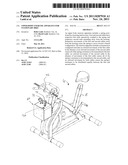 Upper Body Exercise Apparatus for Stationary Bike diagram and image