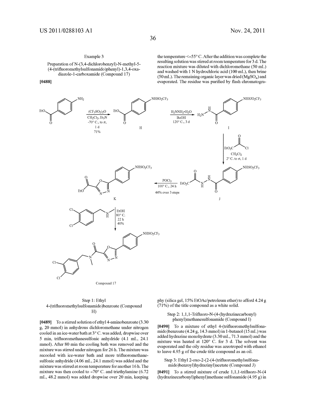 COMPOUNDS, COMPOSITIONS, AND METHODS COMPRISING 1,3,4-OXADIAZOLE     DERIVATIVES - diagram, schematic, and image 39