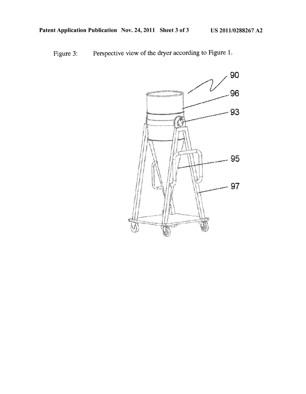 Method and Device for Cleaning an Absorptive Polyester - diagram, schematic, and image 04