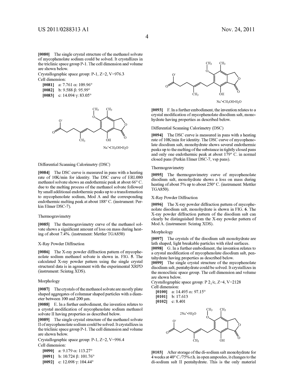 PROCESS FOR MODIFYING DRUG CRYSTAL FORMATION - diagram, schematic, and image 11