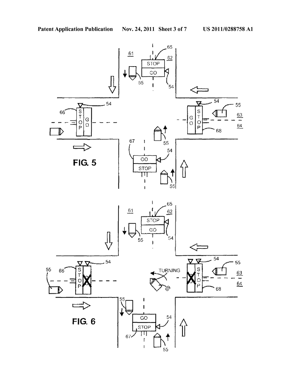 Management Of Traffic Signals At Road Intersection To Avoid Blocking Light Schematic Diagram Vehicles And Image 04