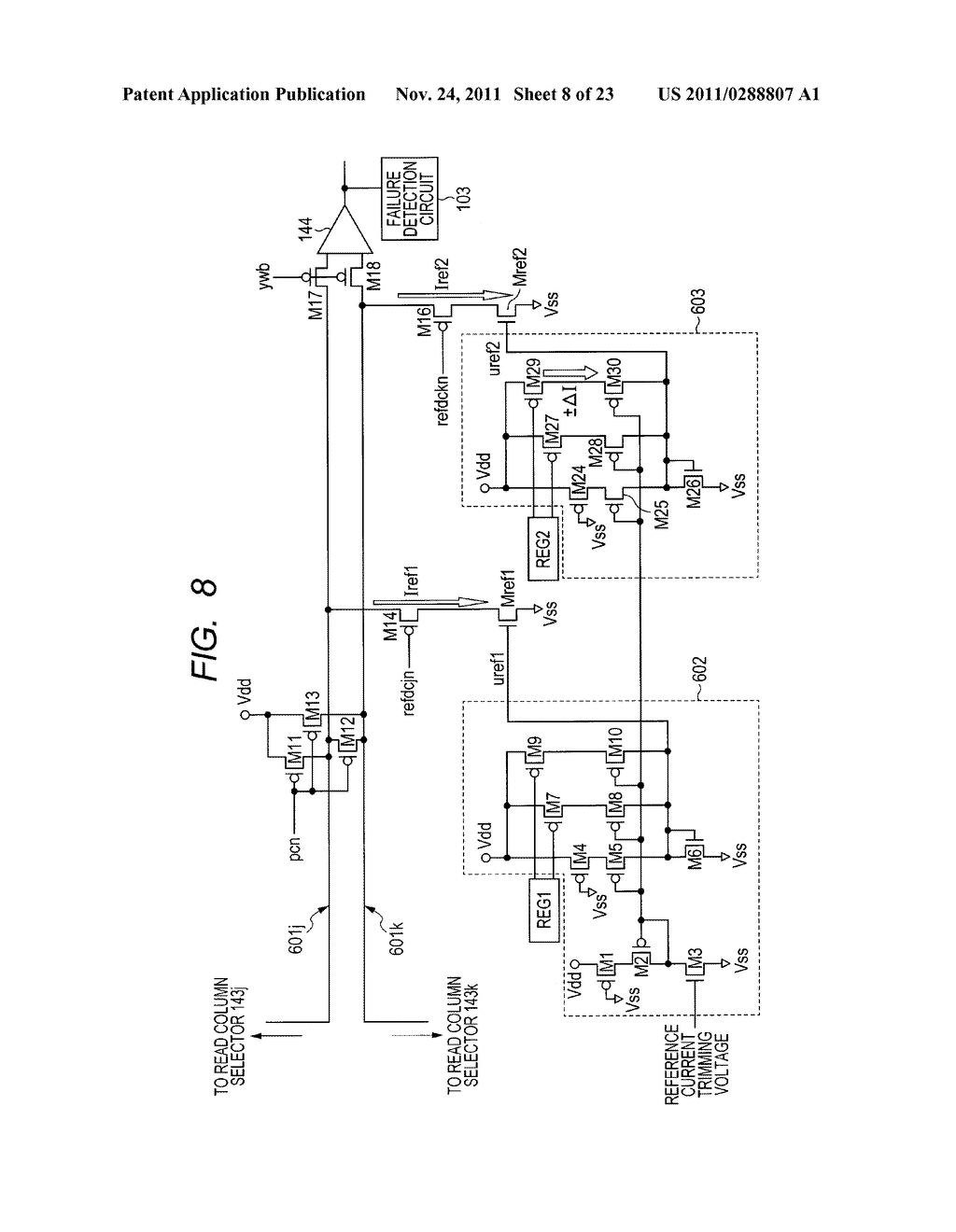 FAILURE DETECTING METHOD, SEMICONDUCTOR DEVICE, AND MICROCOMPUTER     APPLICATION SYSTEM - diagram, schematic, and image 09