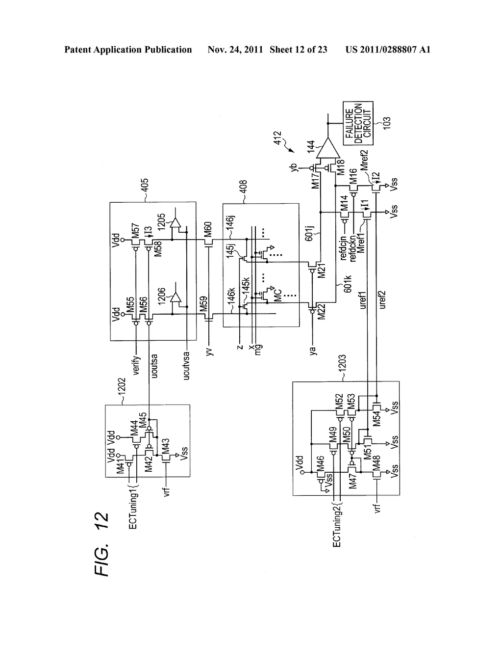 FAILURE DETECTING METHOD, SEMICONDUCTOR DEVICE, AND MICROCOMPUTER     APPLICATION SYSTEM - diagram, schematic, and image 13