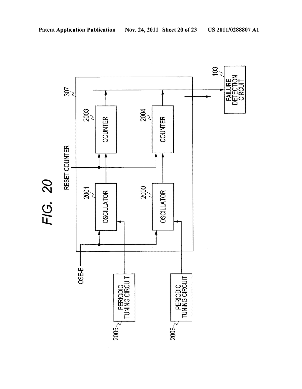 FAILURE DETECTING METHOD, SEMICONDUCTOR DEVICE, AND MICROCOMPUTER     APPLICATION SYSTEM - diagram, schematic, and image 21