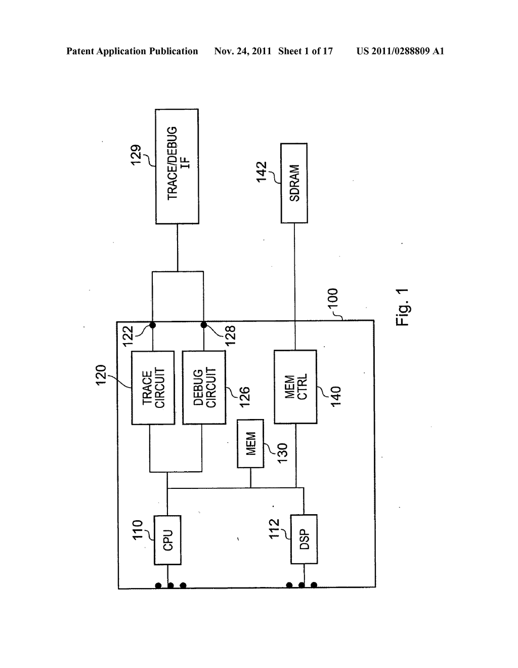 Communication of a diagnostic signal and a functional signal by an     integrated circuit - diagram, schematic, and image 02