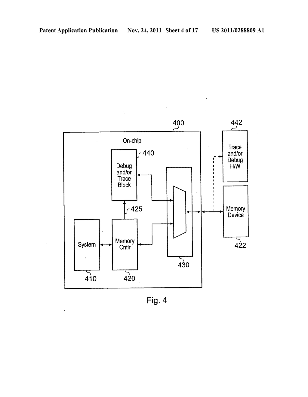 Communication of a diagnostic signal and a functional signal by an     integrated circuit - diagram, schematic, and image 05